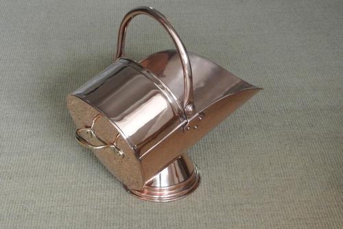 Quality Victorian Cooper Coal Bucket by Benham & Froud Coal Scuttle (1 of 9)
