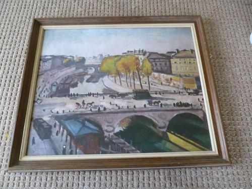 "After Albert Marquet - Vintage Print "" Pont St.Michael "" (1 of 3)"