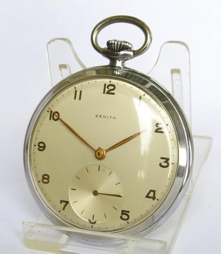 1950s Zenith Pocket Watch (1 of 5)