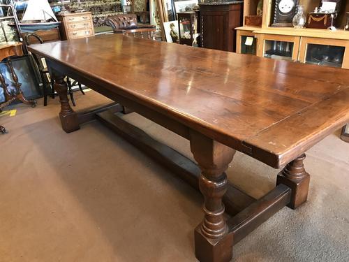 Long  Oak Refectory Table (1 of 10)