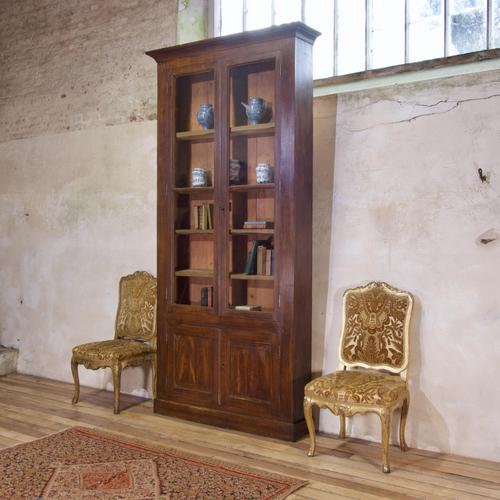 A Tall Majestic 19th Century French Faux Rosewood Bibliothèque - Bookcase (1 of 3)