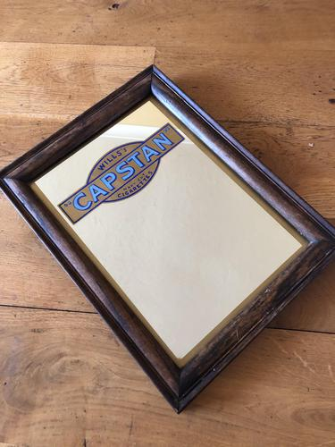 Will's Capstan Tobacco Advertising Mirror (1 of 4)