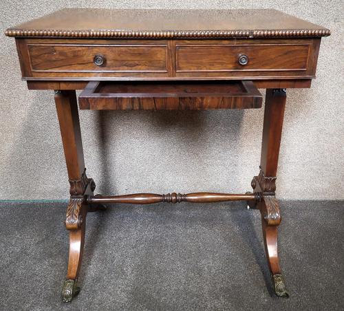 Early 19th Century Free Standing Rosewood Table (1 of 11)
