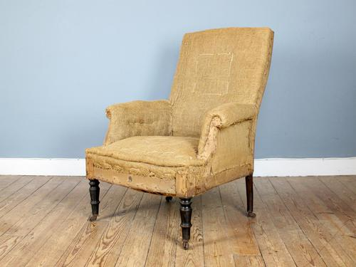 19th Century Napoleon III Armchair for Reupholstery (1 of 3)