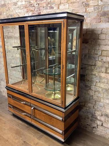 Art Deco Shop Cabinet (1 of 2)