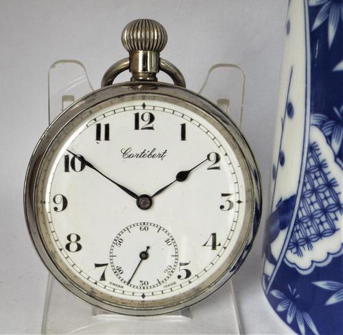 Vintage 1930s Cortébert Pocket Watch (1 of 4)