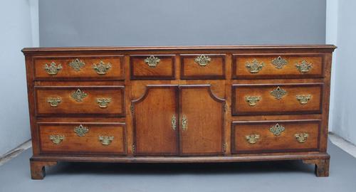18th Century Country Oak Dresser (1 of 12)