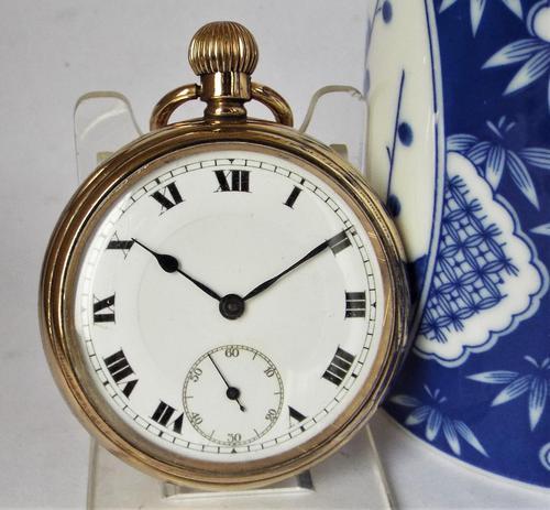 Antique Swiss 1920s Pocket Watch (1 of 5)