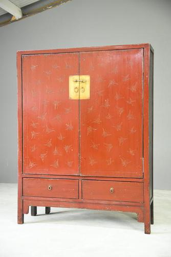 Red Oriental TV Cabinet (1 of 7)