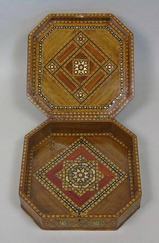 Antique Indian Inlaid Lidded Box (1 of 10)