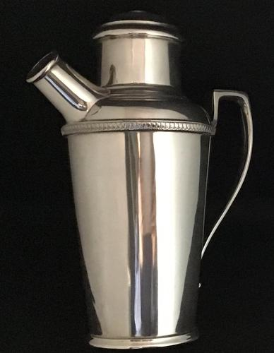 Walker and  Hall Edwardian Silver Plated Cocktail Shaker (1 of 4)