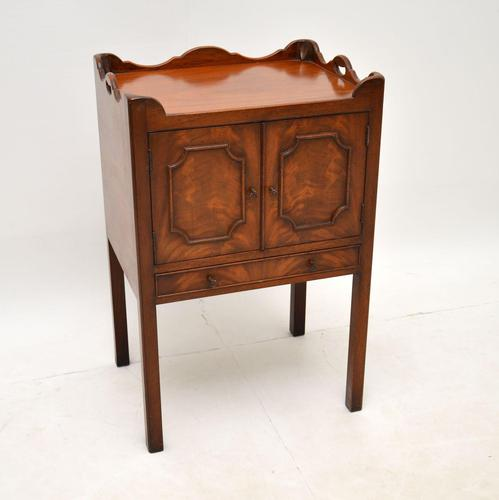 Antique Chippendale Style Mahogany Side Cabinet (1 of 8)