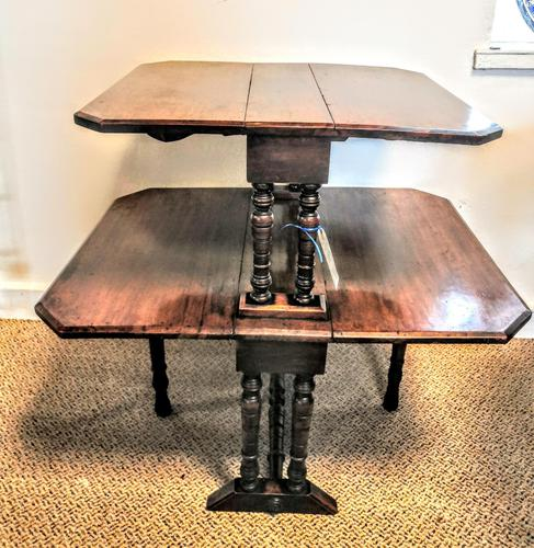 Late Victorian / Early 20th Century Double Sutherland Table (1 of 6)