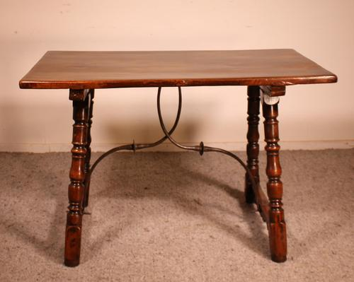 Spanish Table from the 16th Century in Walnut (1 of 13)