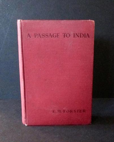 1924 A Passage to India  By E M Forster  1st Edition, 1st Impression (1 of 4)