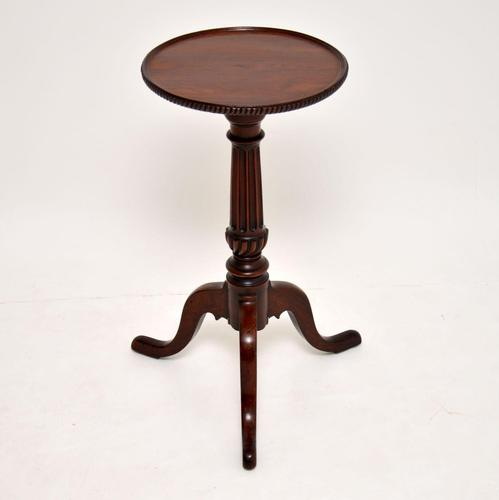 Antique Victorian Carved Mahogany Wine Table (1 of 6)
