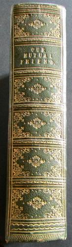 1865 1st UK Edition Charles Dickens Our Mutual Friend (1 of 6)