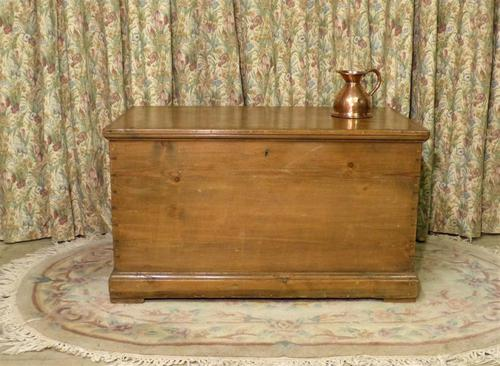 Victorian Stripped Pine Blanket Box with Lots of Storage (1 of 8)