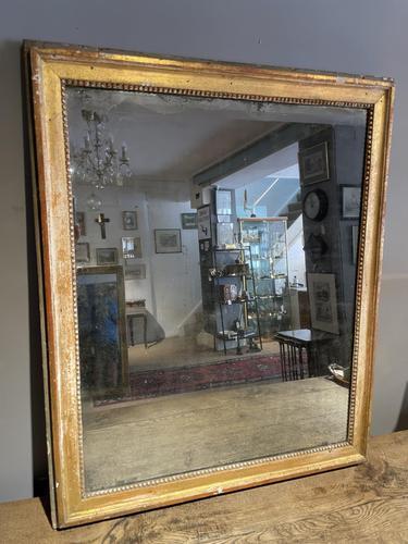 Antique Gilt Mirror (1 of 6)