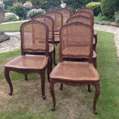 Set of Eight Dining Chairs (1 of 1)