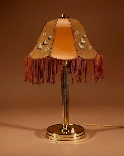 Art Deco Cubism Very Interesting Table Lamp c.1920 (1 of 8)