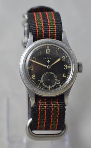 Record WW2 British Military Issue Record Wristwatch (1 of 6)