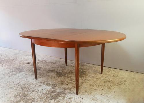 1970's G Plan mid century extending dining table (1 of 5)