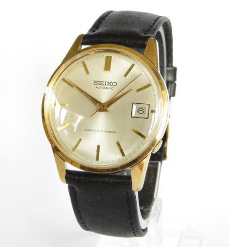 Gents Large Seiko Wrist Watch, 1965 (1 of 5)