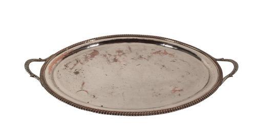Sheffield Plate Platter (1 of 5)