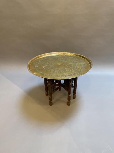 Moorish Brass Coffee Table (1 of 5)