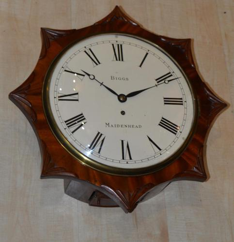 Biggs of Maidenhead Fusee Dial Wall Clock (1 of 1)
