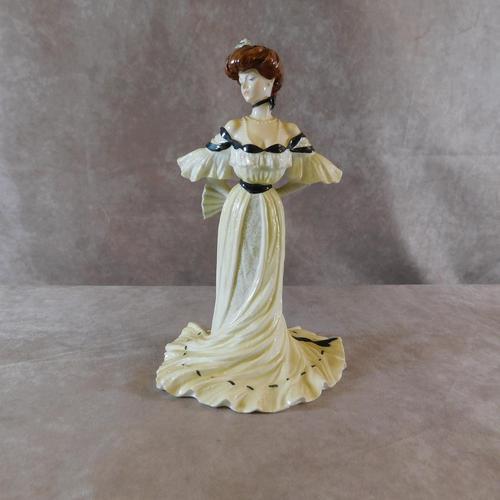 "Coalport ""Alexandra at The Ball"" Limited Edition  Figurine (1 of 6)"