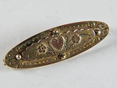 WW1 Gold Sweetheart Brooch (1 of 3)