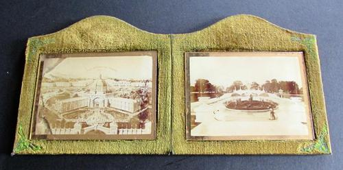 The 1907 Irish International Exhibition, Dublin Souvenir Photographs in Original Glass & Case (1 of 5)