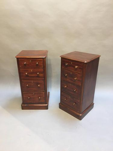 Pair of Victorian Bedside Chest of Tables (1 of 13)