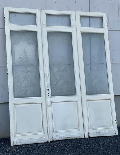 Set of 3 French 19th Century Chateau Doors (1 of 18)