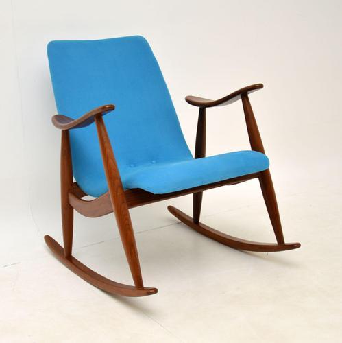 Vintage Dutch Rocking Chair by Louis Van Teefelen (1 of 8)