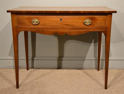 Late 18th Century Mahogany Side Table (1 of 5)