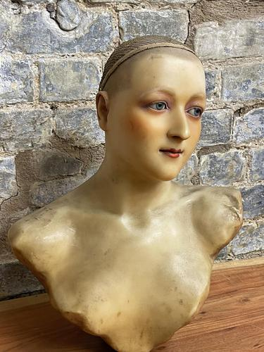 Rare 1920s Wax Mannequin (1 of 7)