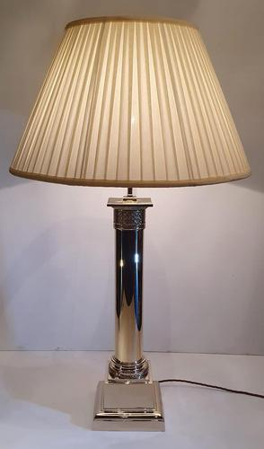 20th Century Brass Large Table Lamp (1 of 4)