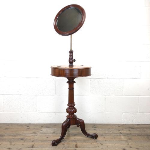 Victorian Mahogany Gentleman's Shaving Stand (1 of 8)