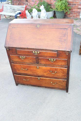 1750's Oak Bureau (1 of 6)