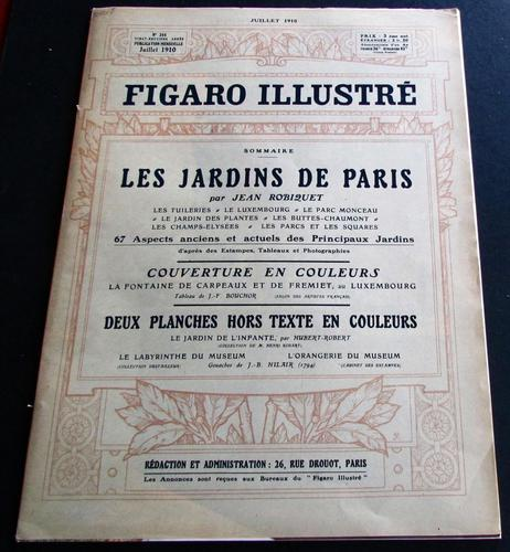 1910 Figaro Illustre Original French Journal Numerous Prints & Adverts, Unusual Poster Size Prints (1 of 4)