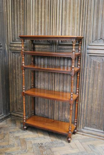 Antique Walnut Whatnot/ Shelves (1 of 6)