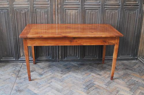 French Cherrywood Farmhouse Table (1 of 7)