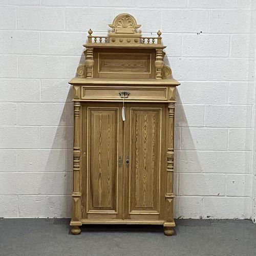 Decorative Antique Pine Night Cupboard (1 of 6)