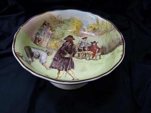 Royal Doulton ' Sir Roger de Coverley '  bowl (1 of 5)