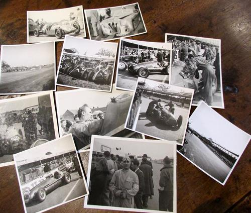 Huge Collection of 162 Original  1930's & 40's Grand  Prix  Racing Photographs (1 of 11)