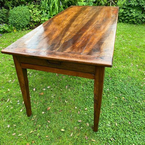 French Farmhouse Table in Walnut (1 of 7)