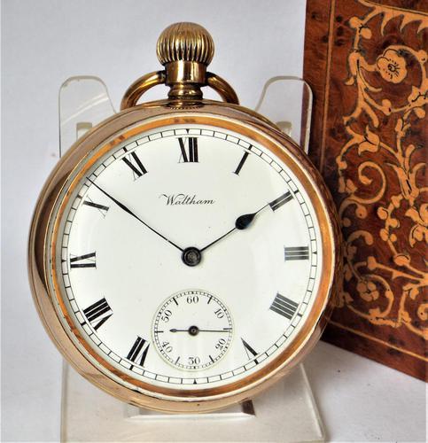 Antique 1913 Waltham Pocket Watch (1 of 5)